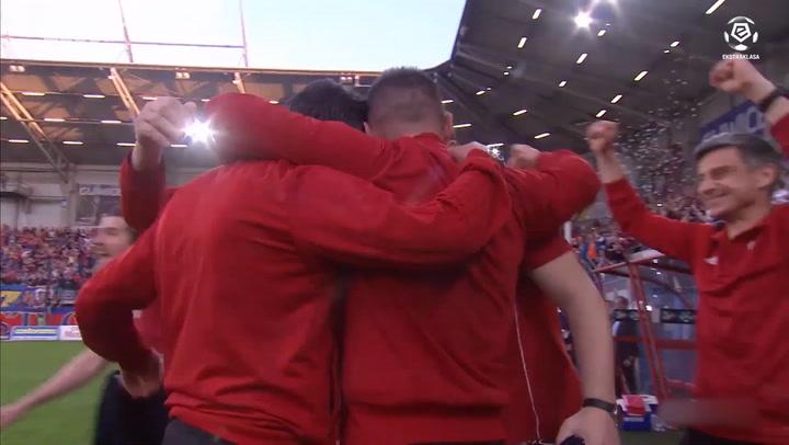 Piast Gliwice celebrate historic title win