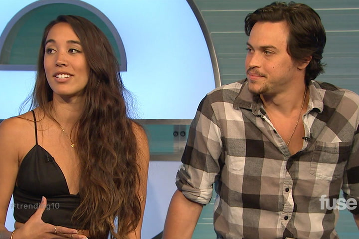 Shows: Trending 10: Alex and Sierra Interview (10/6/14)
