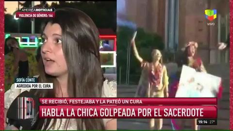 Una chica que festejaba su graduación fue agredida por un sacerdote