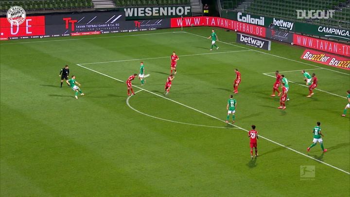 Manuel Neuer's title-sealing save vs Werder Bremen