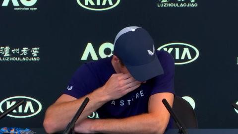 El llanto de Andy Murray al anunciar su retirada del tenis