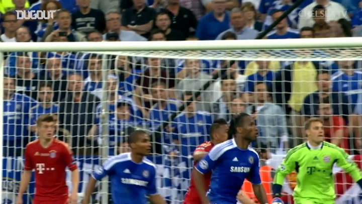 Incredible Goals: Didier Drogba Vs Bayern Munich CL Final