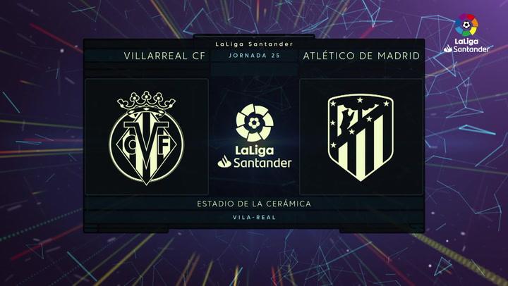 LaLiga Santander (J25): Resumen y goles del Villarreal 0-2 Atlético