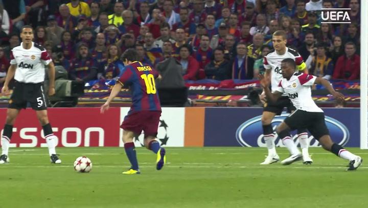 Messi desvela su momento favorito de la Champions