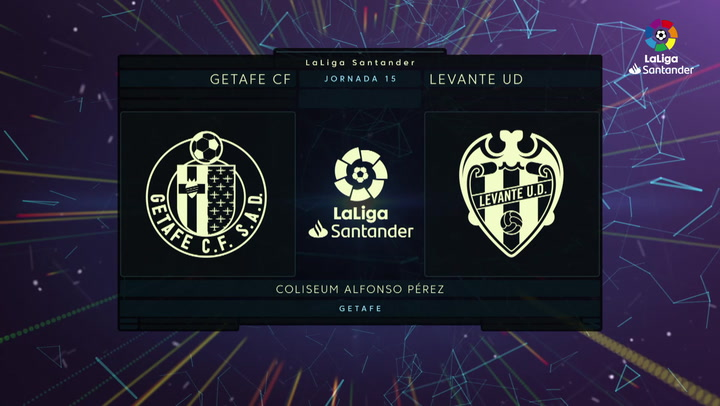 LaLiga Santander (J15): Resumen y goles del Getafe 4-0 Levante
