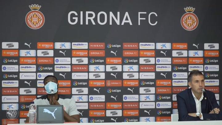 El Girona presenta a Mamadou Sylla