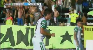 ¡Gol de Platense! Bruno Volpi descuenta 1 a 3 ante Real de Minas