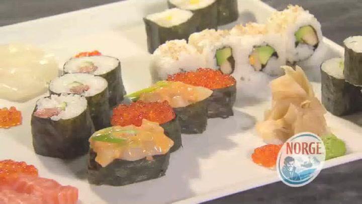 Hvordan handle inn til å lage sushi