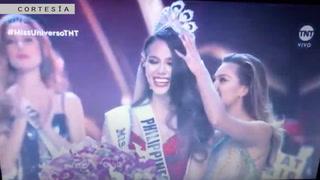 Miss Filipinas se corona como la nueva Miss Universo 2018