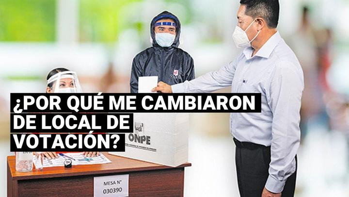 Estos serían los motivos por lo que la ONPE cambió los lugares de votación a los peruanos