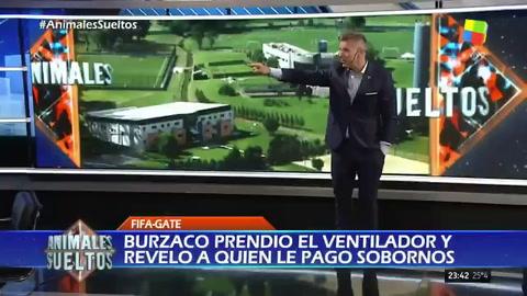 El explosivo editorial de Fantino contra el mafioso de Burzaco