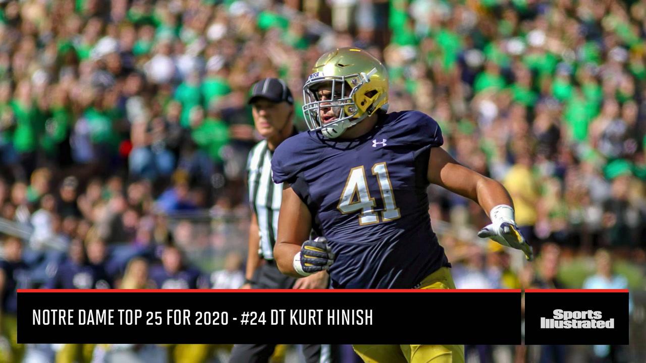 Notre Dame Kurt Hinish #24