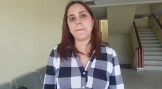 Mamá de Carlos Collier abraza a José Zamora durante juicio