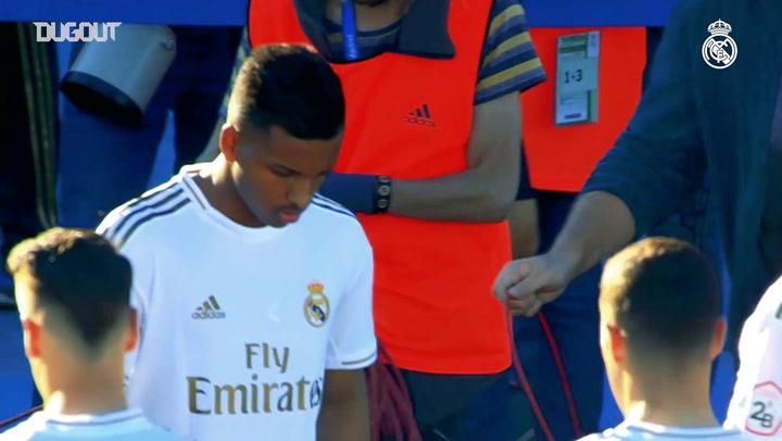 Rodrygo scores for Castilla, as Reinier makes debut