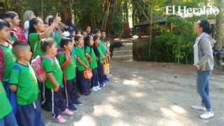 Niños se concientizan de la flora y fauna del parque La Tigra
