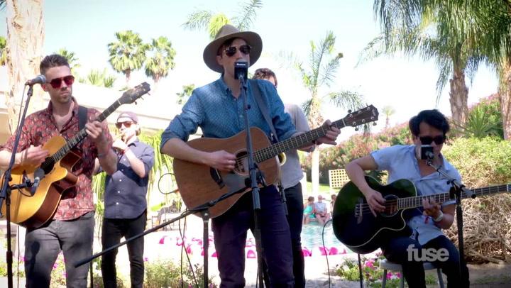 "Coachella 2015: St. Motel Perform ""Cold Cold Man"" Live"
