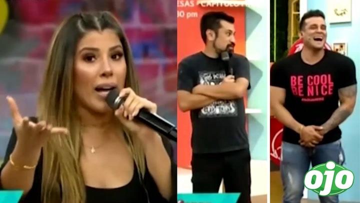 """Yahaira Plasencia dice que es """"comelona"""" y se incomoda con reacción de Christian Domínguez y Aldo Miyashiro"""