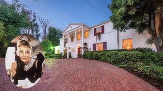 Live Like Hollywood Royalty in Audrey Hepburn's Former L.A. Mansion