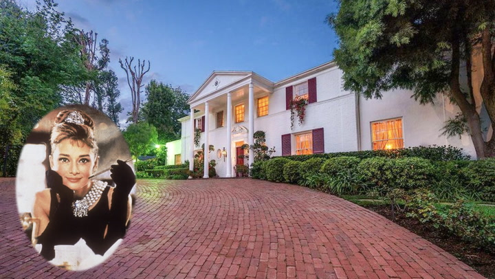 Live Like Hollywood Royalty in Audrey Hepburn's Former L.A. Mansion