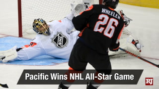 Golden Edge: Pacific wins NHL All-Star game