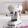 Thumbail image of Smeg Manual Espresso Machine by Yuppiechef video