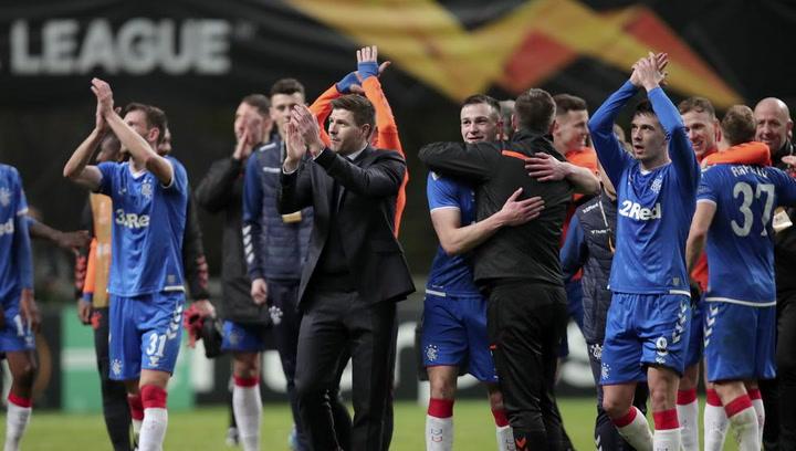 Europa League: Resumen y Goles del Glasgow Rangers - Sporting de Braga