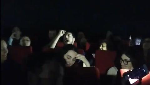 Bohemian Rhapsody: se cortó la luz en el cine y un espectador sorprendió a todos