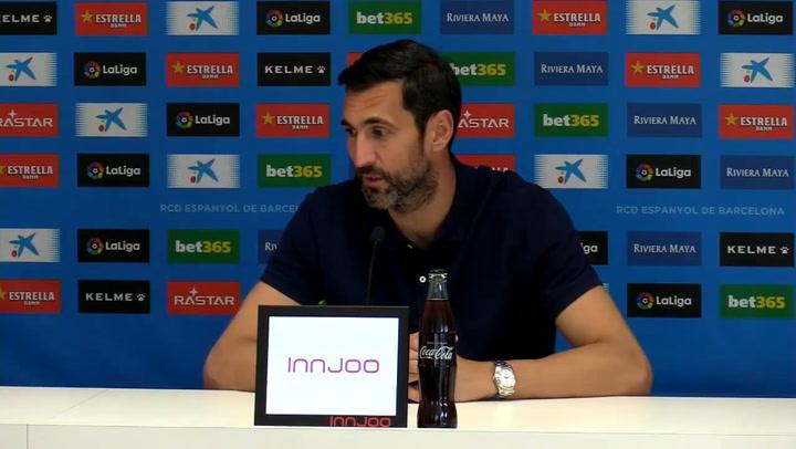 La rueda de prensa de Diego López (Espanyol)