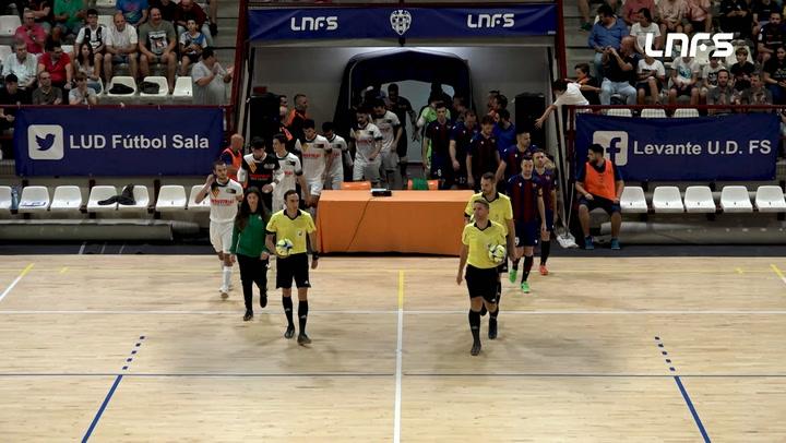 LNFS. Jornada 4: Levante UD - Industrias Santa Coloma (4-0) Jornada 4 Temp 19-20