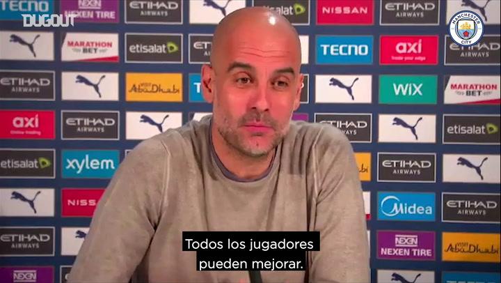 Guardiola: 'Todavía exijo más'