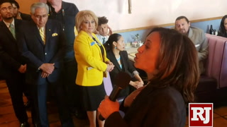 Kamala Harris campaigns in Las Vegas