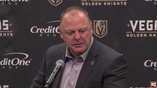 Golden Knights On Shutout Win Against Calgary