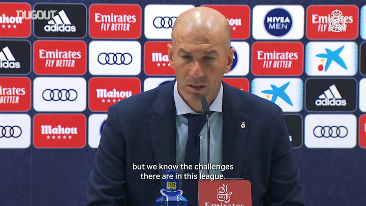 Zidane: 'You sleep better after a win'