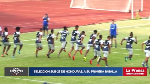 Selección Sub-23 de Honduras, a su primera batalla