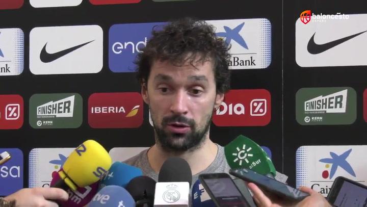 """Sergio Llull: """"Queremos estar en la lucha por las medallas"""""""