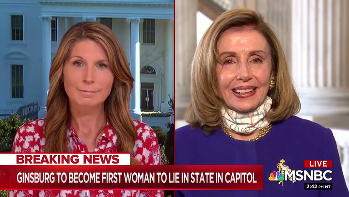 House Speaker Nancy Pelosi on MSNBC, 9/23/2020