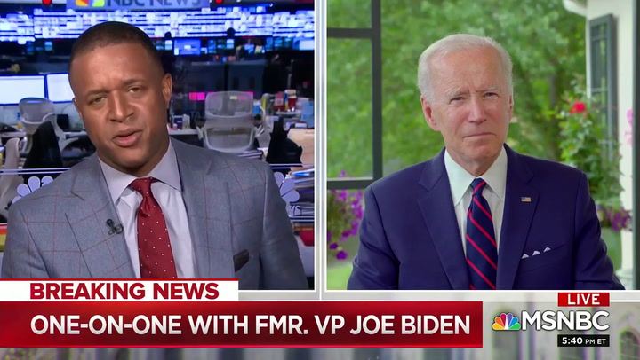 Biden on Klobuchar: Events in Minneapolis Have 'Nothing to Do' with V.P. Pick
