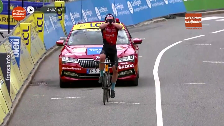 Padun repite victoria y Porte vencedor final del Dauphiné