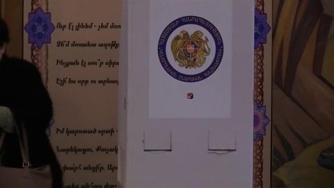 Cierran los colegios electorales en Armenia