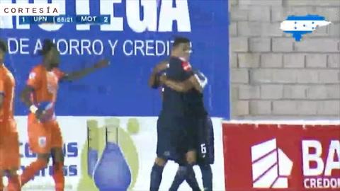 Montes anota el segundo gol para Motagua en Choluteca