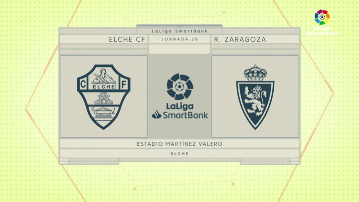 LaLiga SmartBank (J28): Resumen y goles del Elche 1-2 Zaragoza