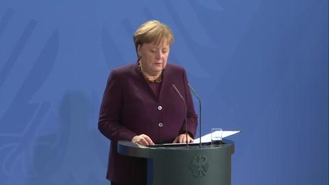 Merkel denuncia el