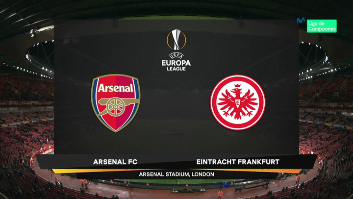 Europa League Resumen y Goles del Arsenal-Eintracht