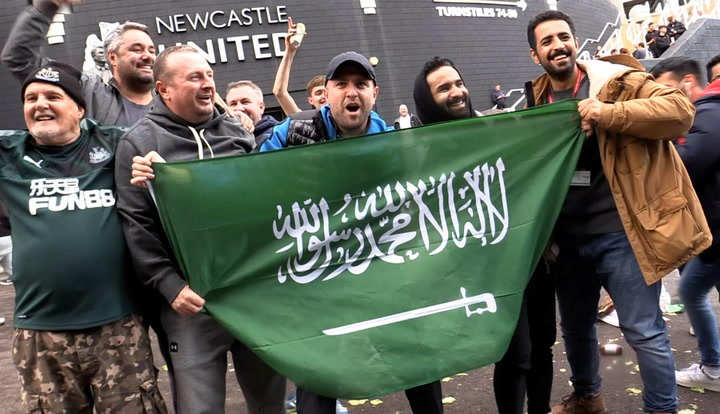 Newcastle fans celebrate as £300m Saudi-led takeover confirmed