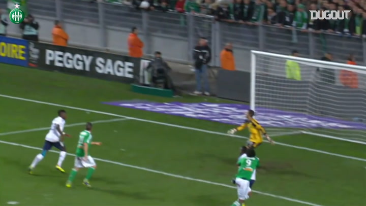 All Romain Hamouma's goals vs Lyon