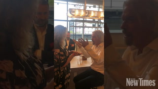 Richard Branson Hypnotizes Food Editor Laine Doss