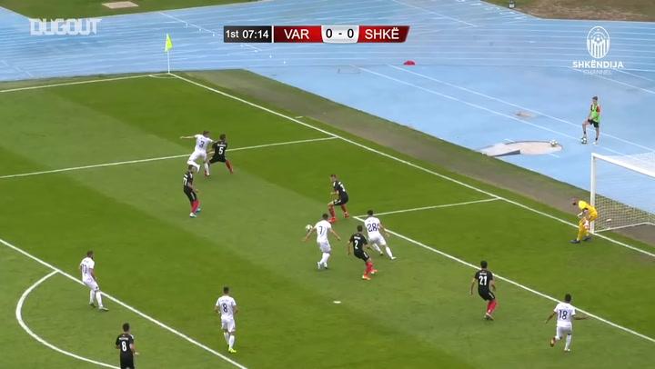 Highlights: Vardar 2-2 KF Shkëndija