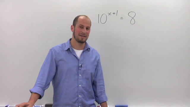 Solving Exponential Equations with the Different Bases - Problem 3