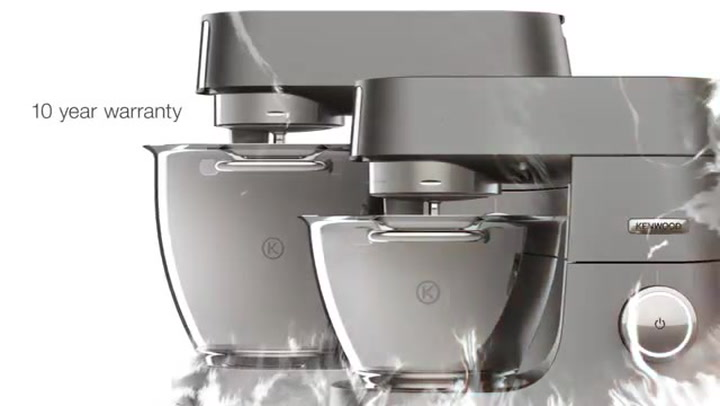 Preview image of Kenwood Chef Titanium Stand Mixers video