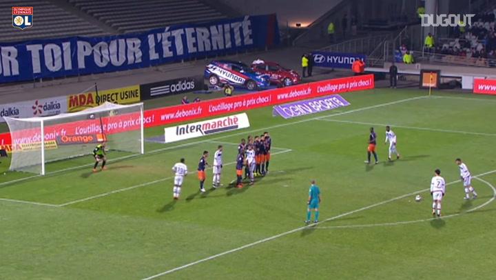Ghezzal's stunning free-kick vs Montpellier